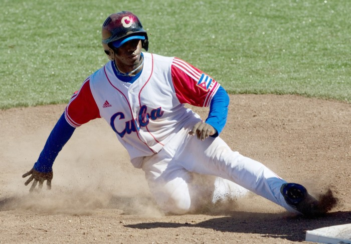 Cuban player Rusney Castillo recently defected to the U.S.