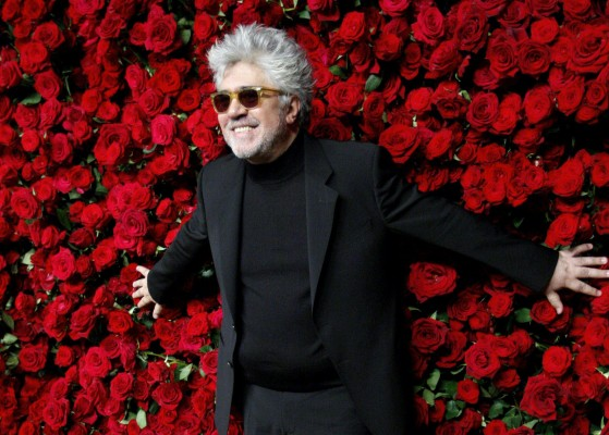 Spanish director Pedro Almodovar attends the Museum of Modern art's fourth annual Film Benefit in New York