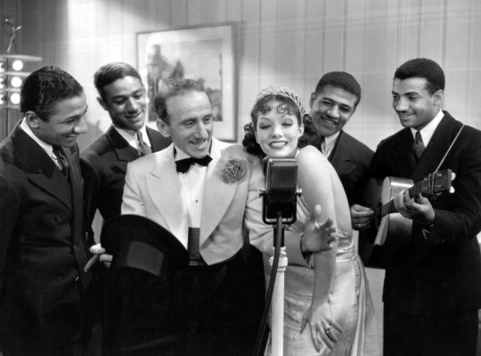 Jimmy_Durante_Lupe_Velez_Mills_Brothers_Strictly_Dynamite_1934