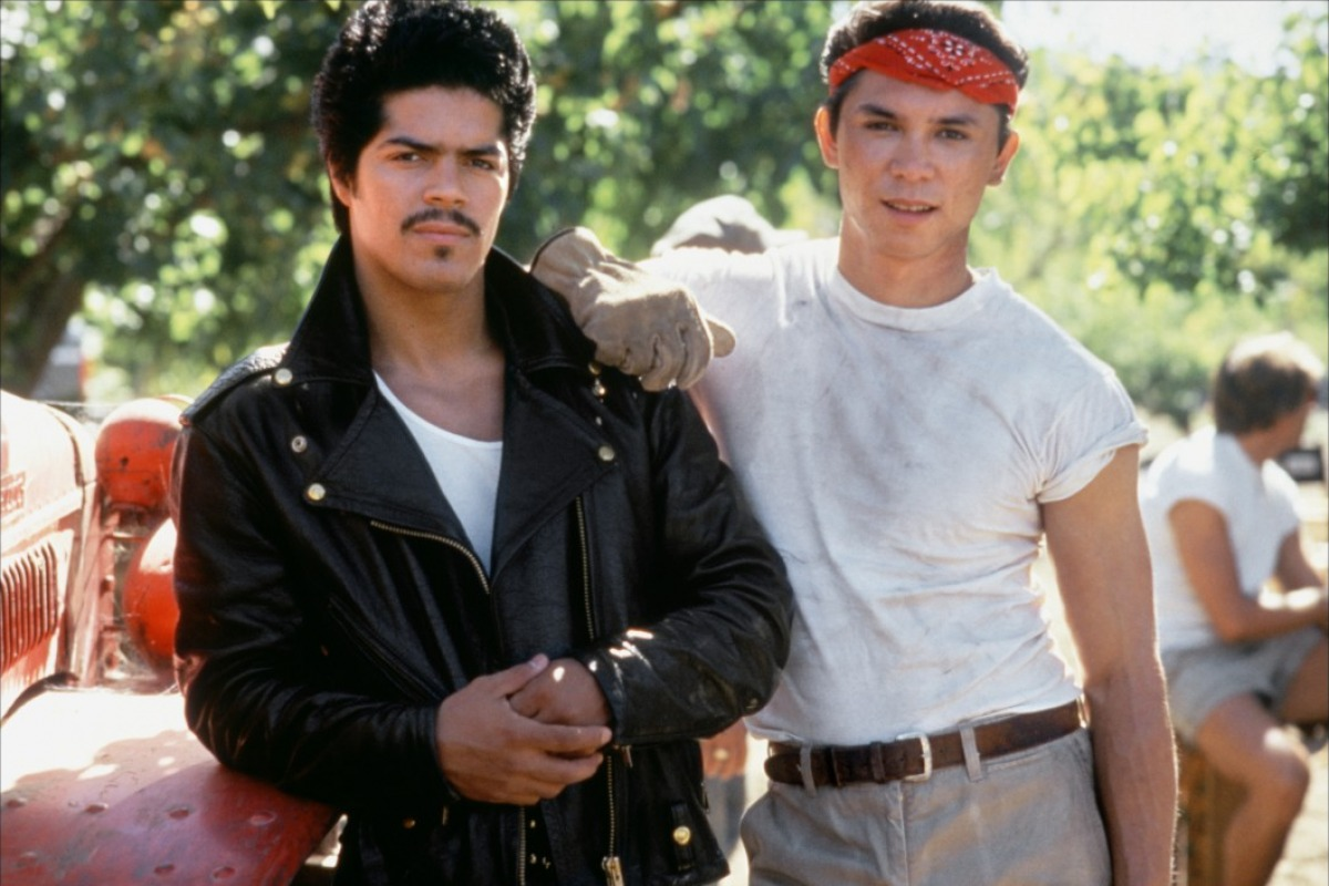 la bamba the movie Our flick of the week is ``la bamba,`` a biography of pop singer ritchie valens,  who  ritchie`s half-brother bob (played by esai morales in a.