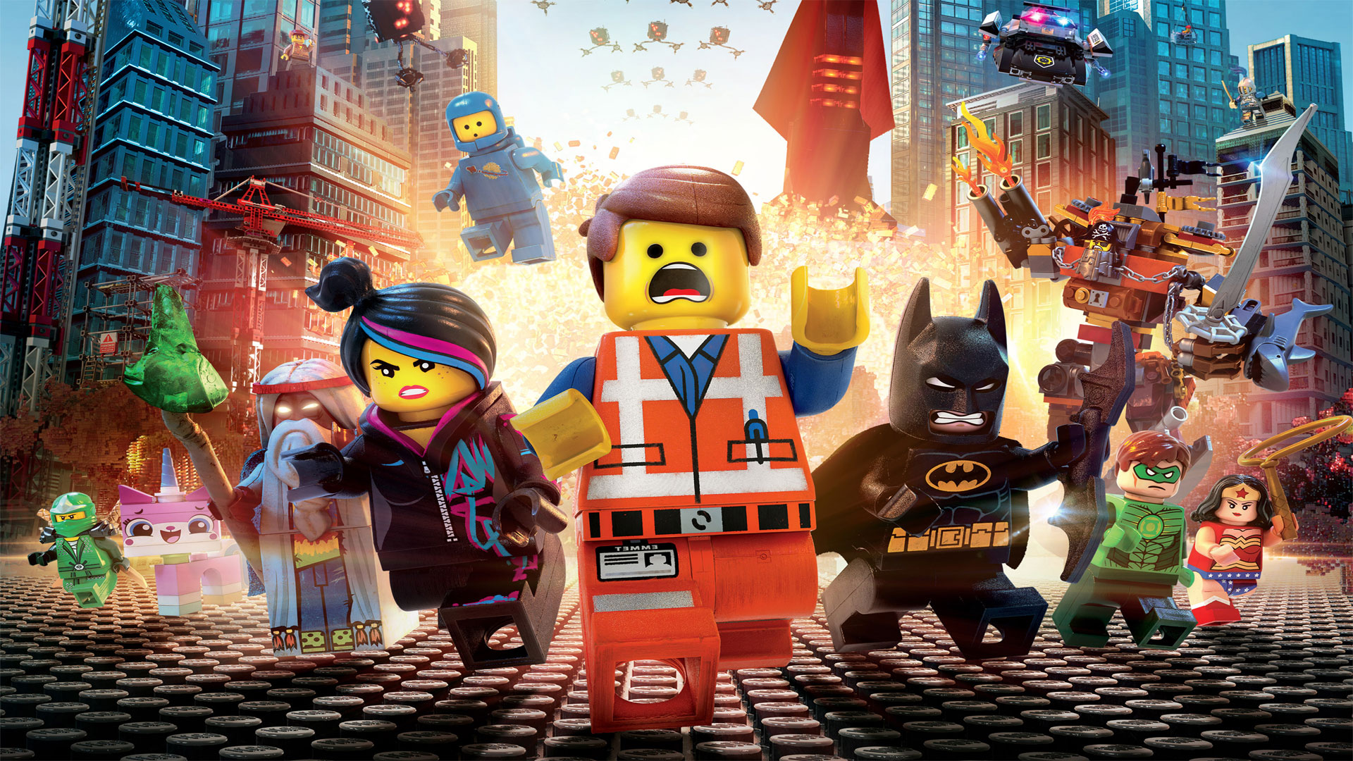 Pictures From The Lego Movie: Motion Picture Association Report: Latinos Love Movies