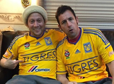 Apparently Rob Schneider and Adam Sandler Love Mexican Fútbol