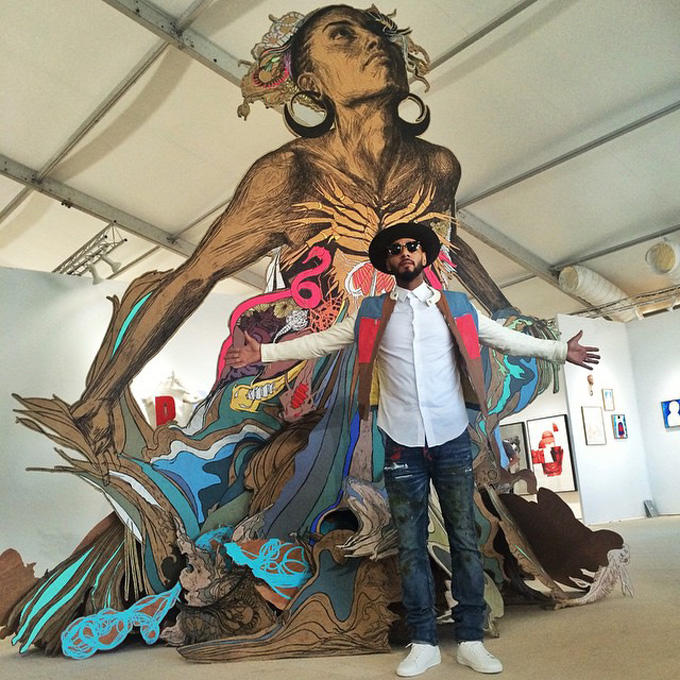"Swizz Beatz Curates ""The Dean Collection"" For SCOPE at Art Basel Miami Beach"