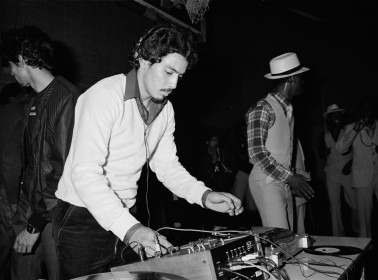 DJ Charlie Chase. Photo Coutesy of: Joe Conzo / Museum Of The City Of New York