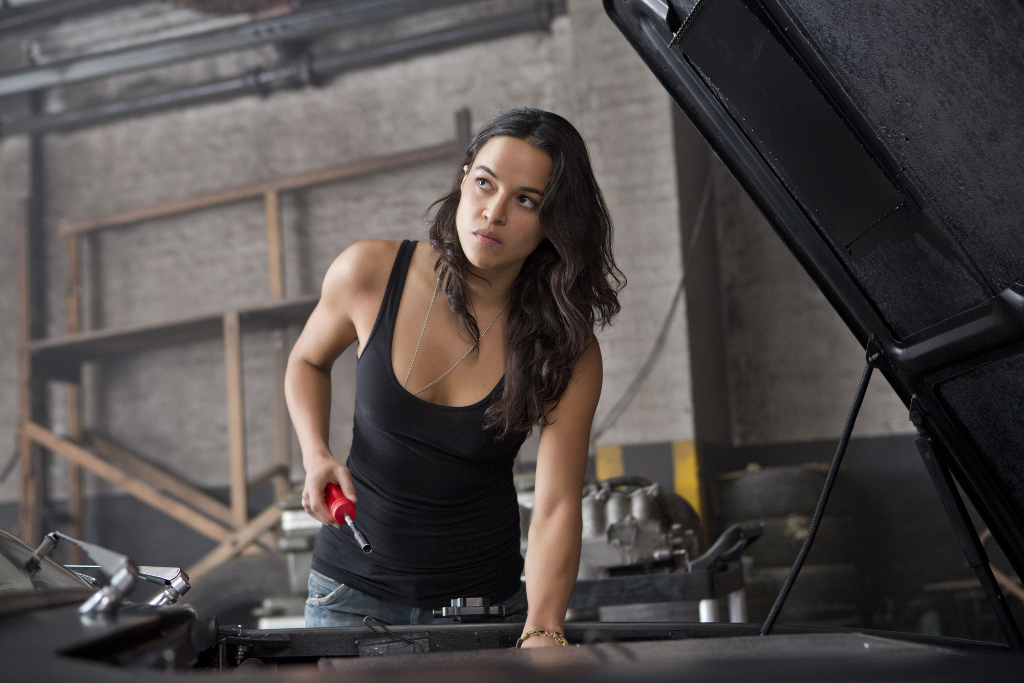"""Michelle Rodriguez Is a """"Genetically Enhanced Weapon of Mass Destruction"""" in Robert Rodriguez VR Series"""