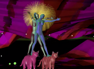 "Javiera Mena's ""Que Me Lleve La Noche"" Video is a Retro-Futuristic Acid Trip"