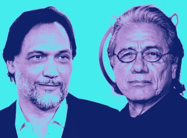 Edward James Olmos and Jimmy Smits The Art of Living
