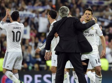 Both Ancelotti and Chicharito Get Booted From Real Madrid
