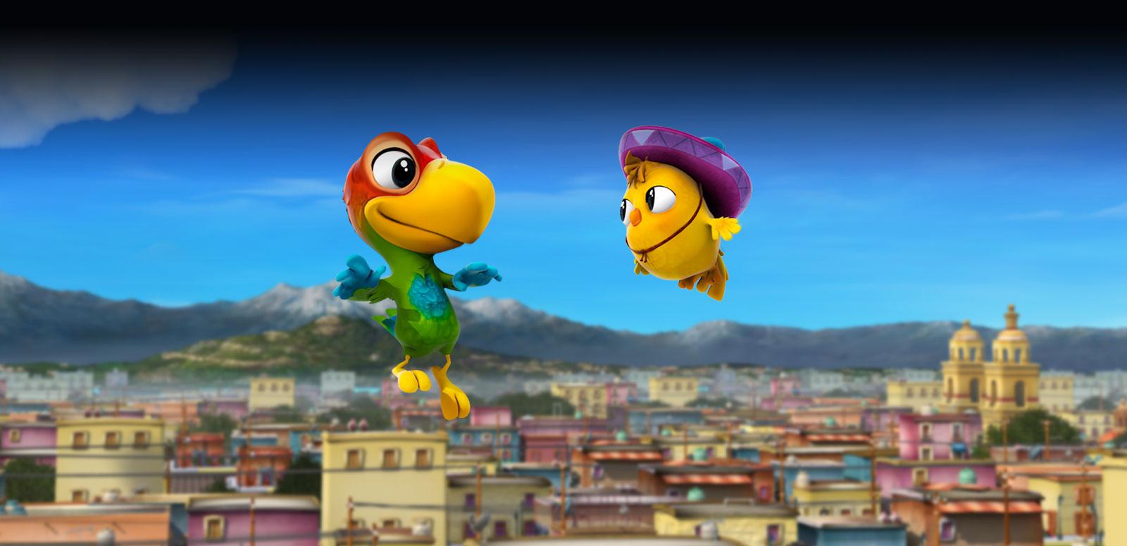 TRAILER: 'El Americano' is Like 'Rio' + Angry Birds with a Norteña Soundtrack