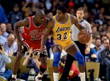 Chicago Bulls v Los Angeles Lakers