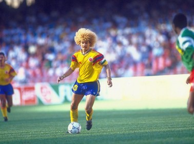 Ball Expert Pibe Valderrama on Being Colombia's Captain and Having Pelotas