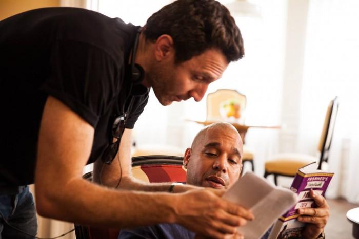 Director Ian Edelman and actor Edgar Garcia.