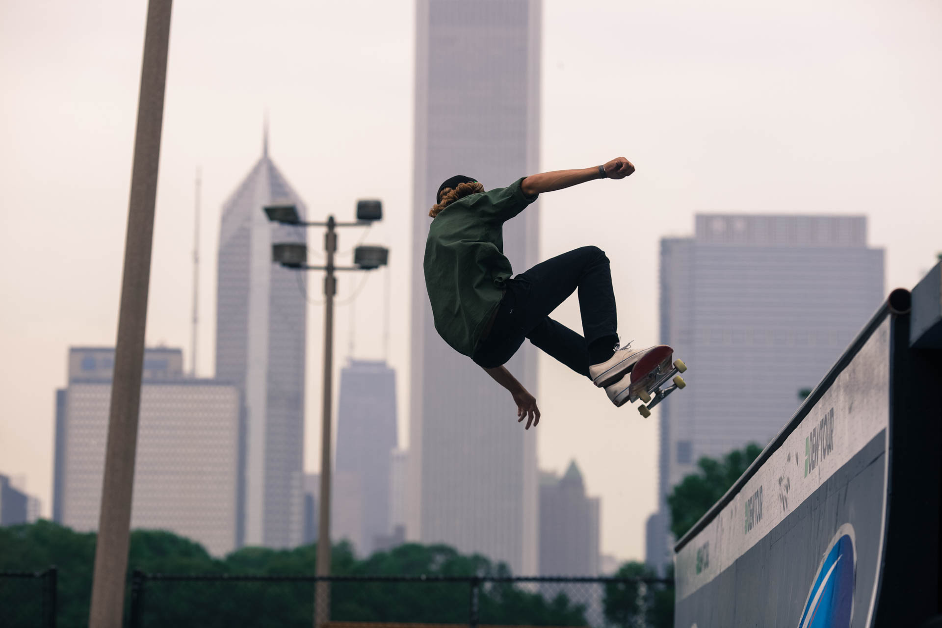 Photos: The Dew Tour Hits Chicago's New Skate Plaza in Grant Park