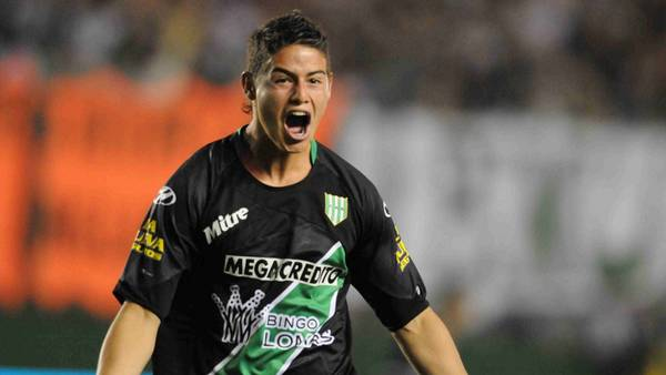 James Rodriguez as a player for Banfield