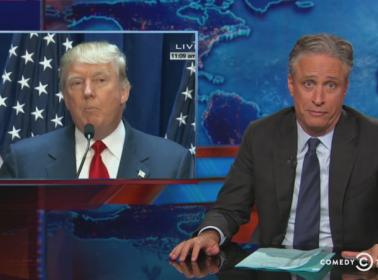 Jon Stewart Donald Trump 2