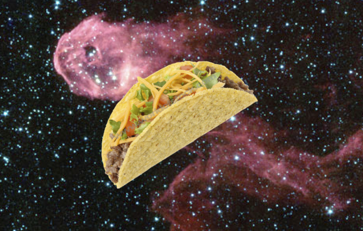 astronaut taco space - photo #1