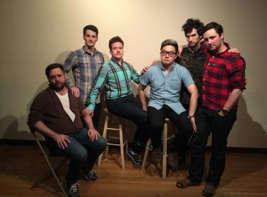 (L to R: Zak Sommerfield, Daniel Lempert, Zeke Smith, Bowen Yang, Jason Sweetenis, and Jose Cagigal. Not pictured: Jay Malsky)