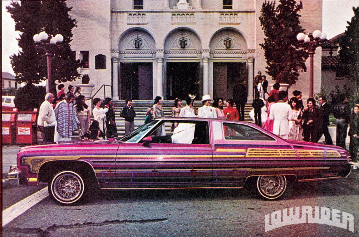 9 Old School Cool Pictures from Lowrider Magazine in the \'70s