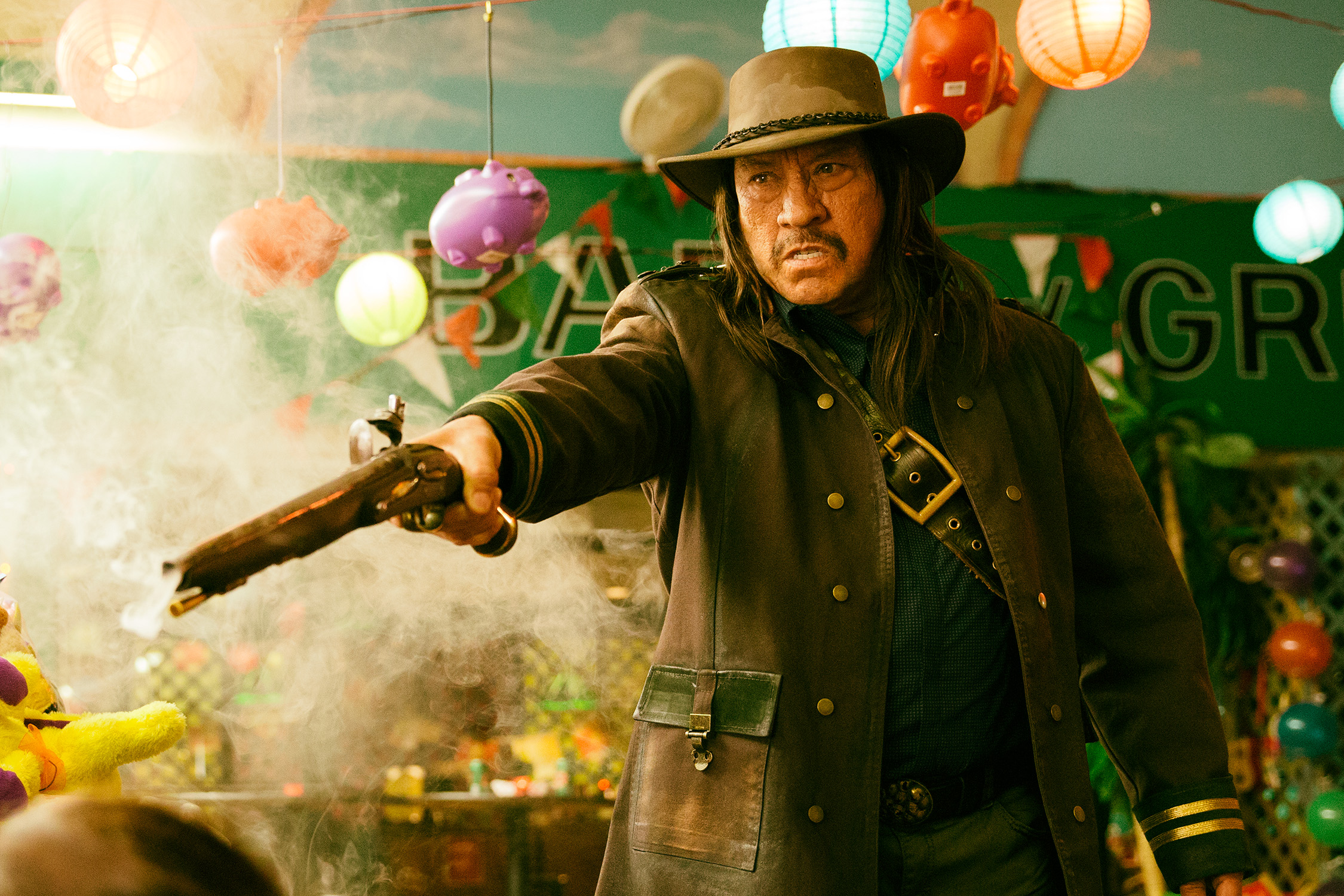 Danny Trejo's Back to Doing What He Does Best, Being Terrifying