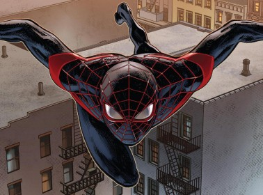 Marvel Gives Afro-Latino Spiderman Miles Morales a Nas Homage Cover