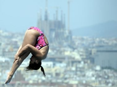 Paola Espinosa is the Pan American Diving Queen