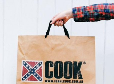 How Argentine Brand Cook Ended up with the Confederate Flag as Their Logo