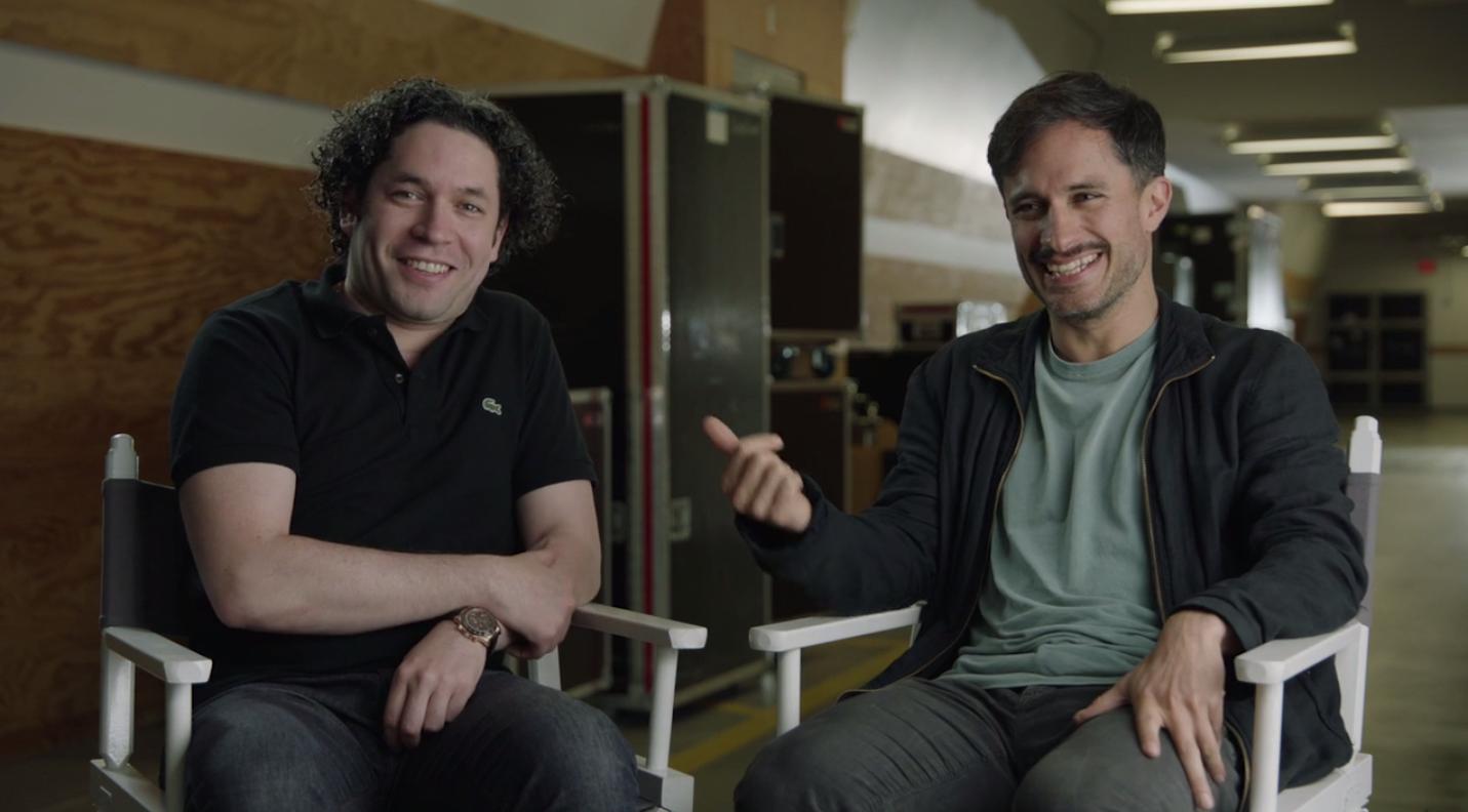 What It's Like to Watch Gael Garcia Bernal Replace Gustavo Dudamel as Conductor of LA's Philharmonic