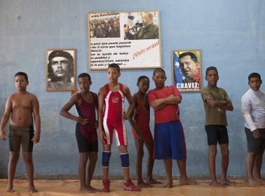 PHOTOS: A Look at the Journey of Cuba's Child Wrestlers
