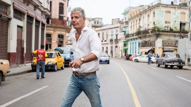anthony bourdain cuba parts unknown