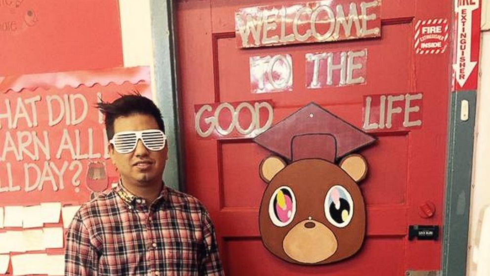 Fourth Grade Teacher Adrian Perez's Kanye West-Themed Classroom Banned After Parents Complain