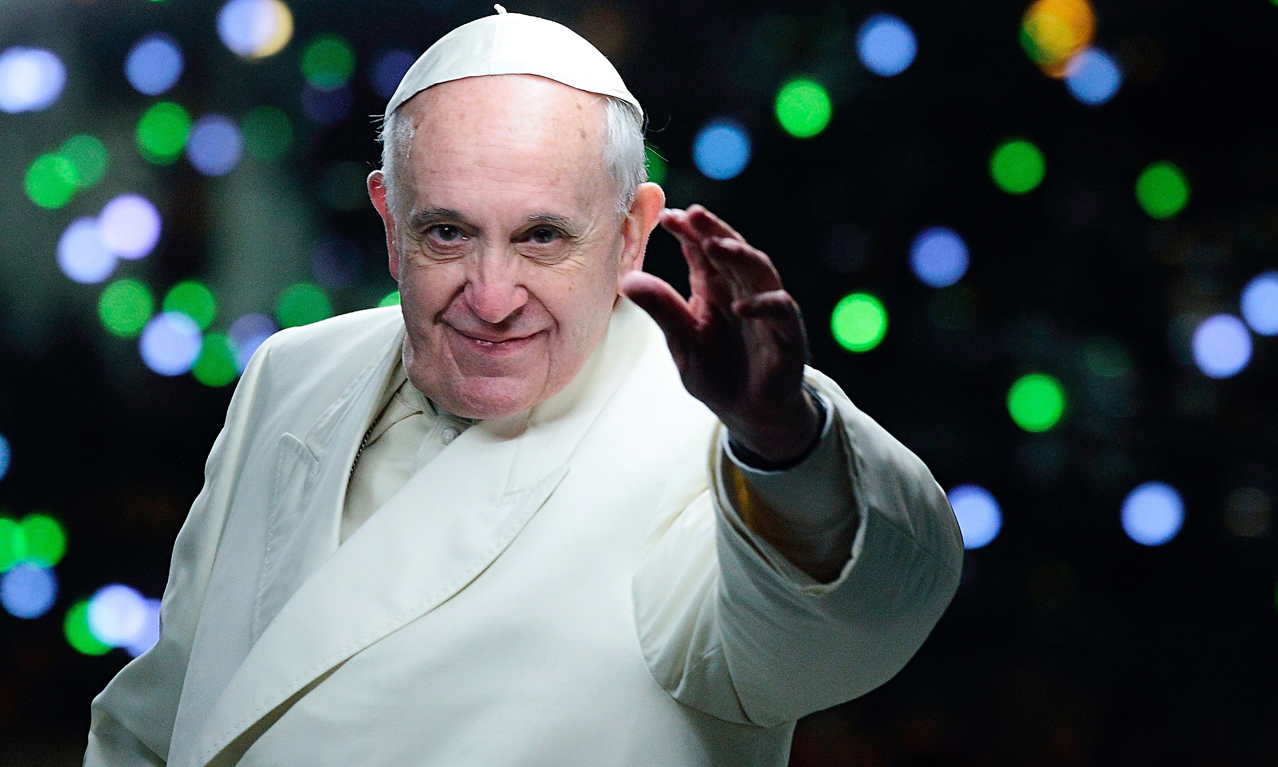 Watch the Pope's Powerful Statement on Immigration to US Congress