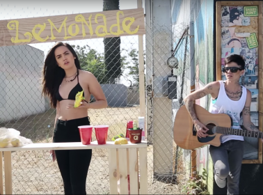 """Raven Felix Sets Up a Lemonade Stand and Raps About the Come Up in """"Little Less Hard"""""""