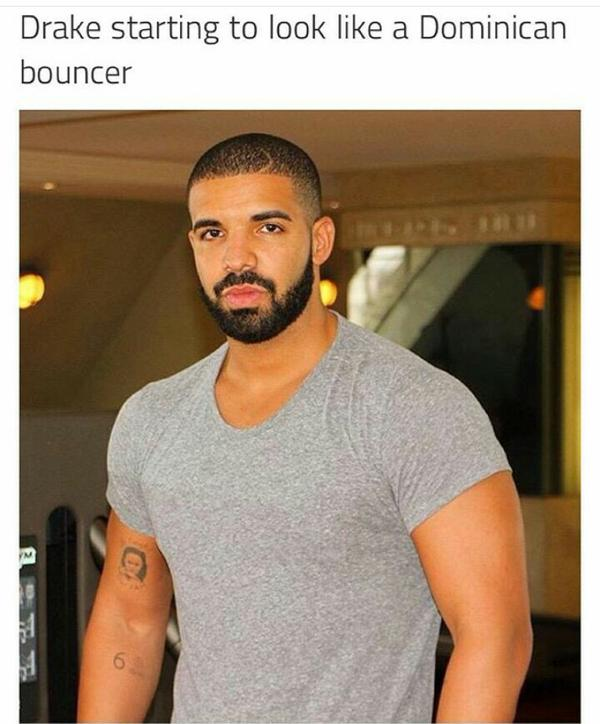 dee2d377a And finally, Dominican Drake in full form: the buff, weightlifting papi we  now know and love. At this point, he basically looks like he has the power  to ...