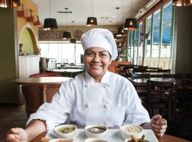 Chef Rocio Camacho. Photo by Kevin Scanlon for LA Weekly