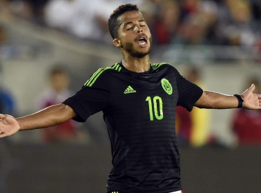 It's Official: Giovani Dos Santos Won't Face Off Against the US This Weekend