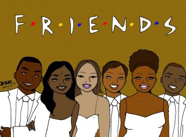 CultureStrike Artist Reimagines Sitcoms With Only People of Color