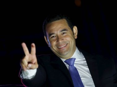 After Low Voter Turnout, Comedian Jimmy Morales Is Elected Guatemala's President