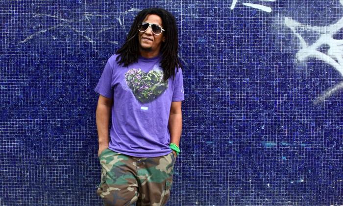 Gifted Puerto Rican rapper Tego Calderon is seen outside his studio, El Sitio, in Santurce, San Juan, Puerto Rico.