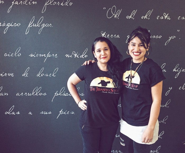 Cely Rodriguez and Moraima Fuentes, founders of The Jibarito Stop
