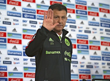 Juan Carlos Osorio Has Arrived and He's Not Messing Around