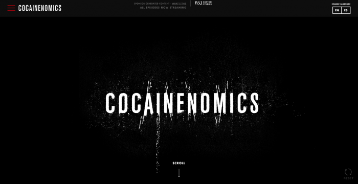 Cocainenomics WSJ