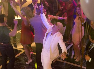 Pitbull and His White Suit Partied With Terrence Howard on 'Empire'
