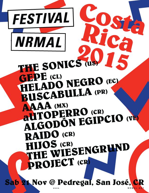 Festival Nrmal Costa Rica 2015
