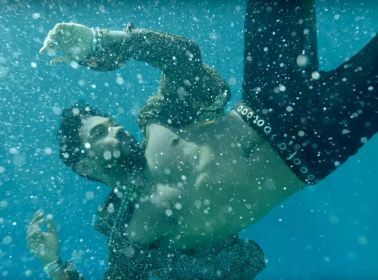 """Miguel Fantasizes About an Underwater Threesome in the Video for """"Waves"""""""