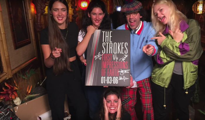 Nardwuar vs. Hinds The Strokes Album