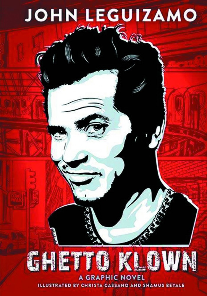 STK683747 John Leguizamo Ghetto Klown graphic novel