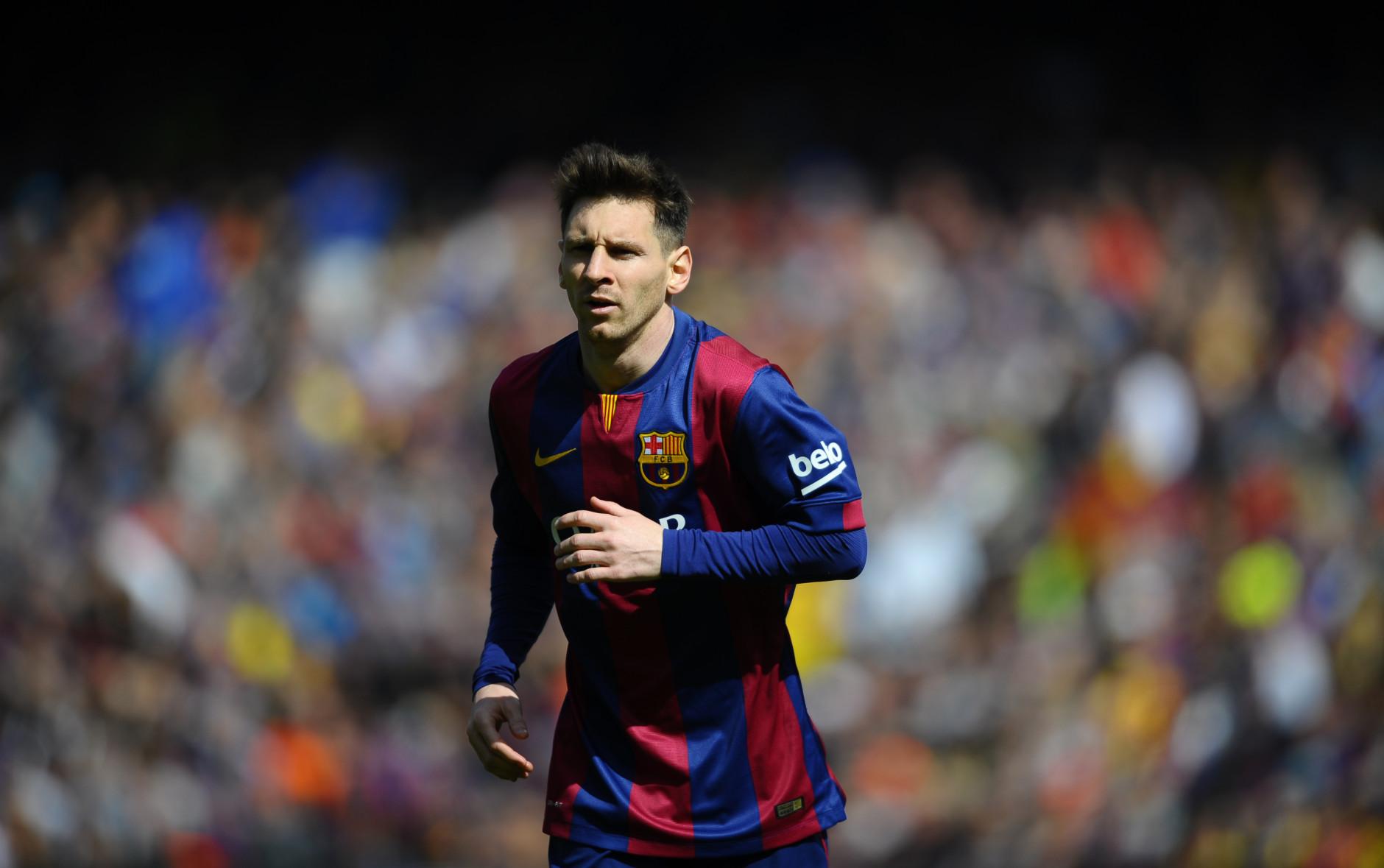 Soccer Players Messi Pelé Declares Mes...