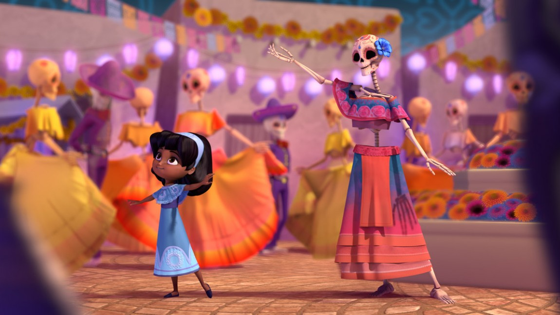 This Animated Short About A Little Girl Celebrating Dia De Muertos Might Make You Die From Cuteness