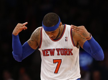 Classic Carmelo Anthony Compares the Mets' World Series Run to the Knicks. Yeah, OK