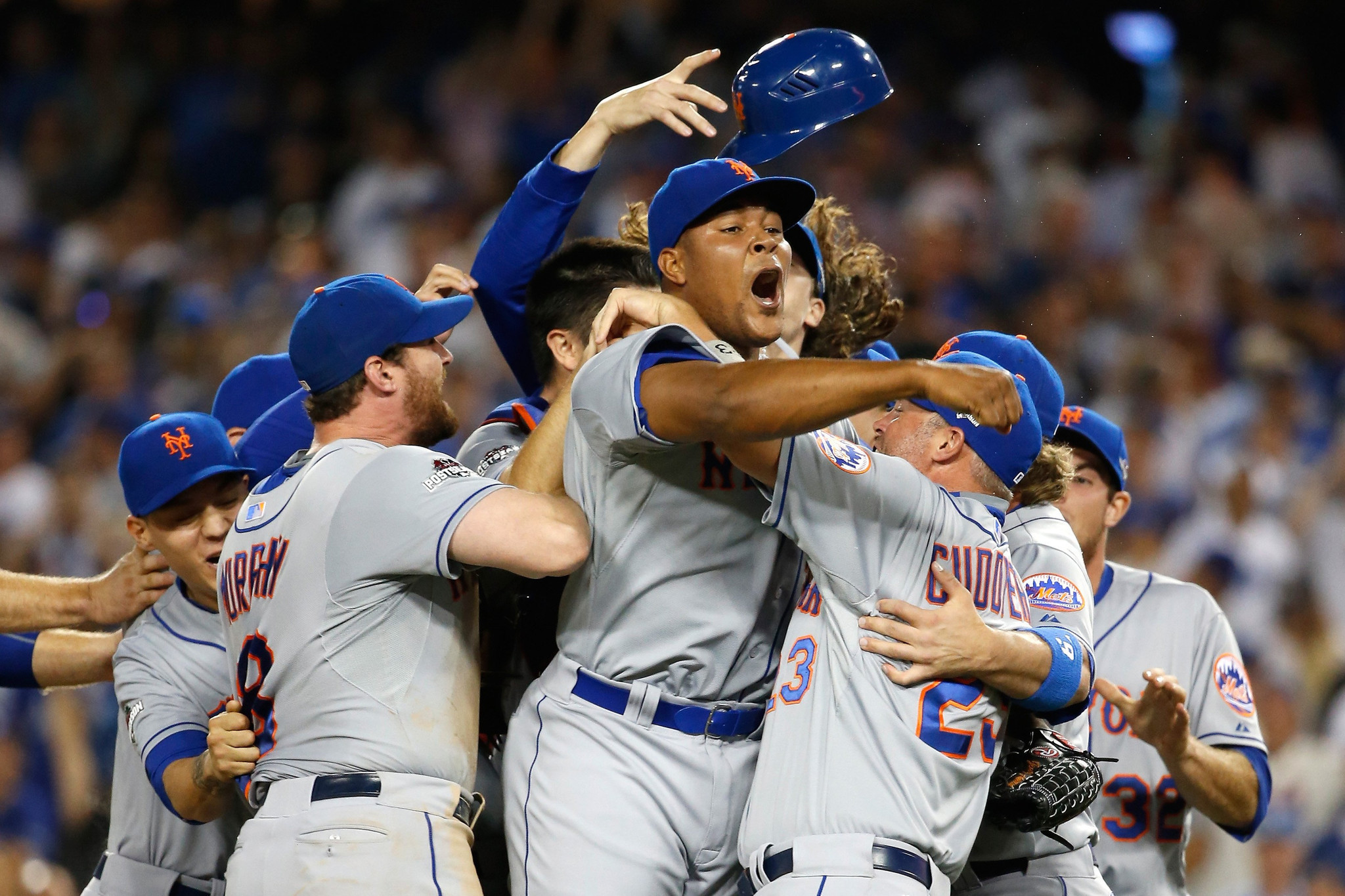 The Mets Defeat the Dodgers in Game 5, and the Twitter Trash Talk Was OD